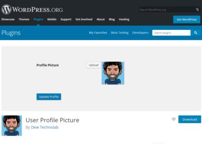 User Profile Picture Plugin