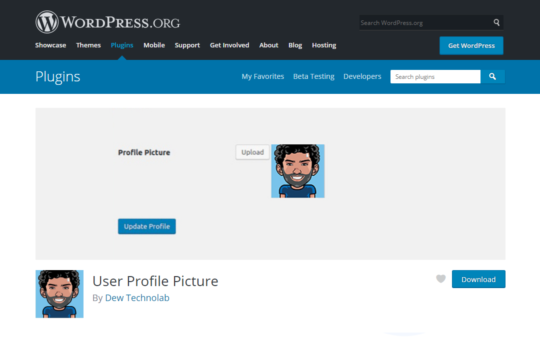 User Profile Picture Plugin